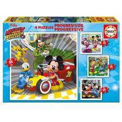 Puzzle progresivo Mickey