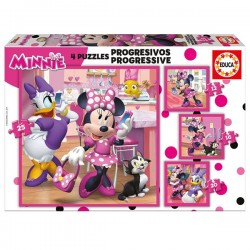 Puzzle progresivo Minnie