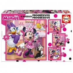Puzzle progresivo Minnie