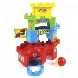 Torre apilable con circuito multicolor