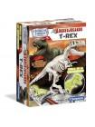 Arqueojugando T-Rex fluor