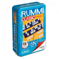 Rummi clásico travel metal