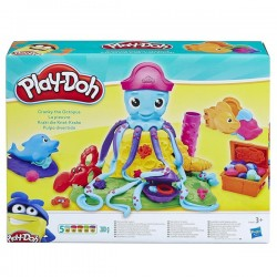 Playdoh pulpo divertido