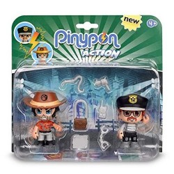Pinypon action pack 2 figuras