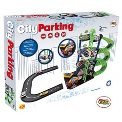 City Parking 2 coches y helicóptero