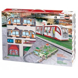 Metro City con luz y diorama