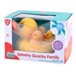 Familia patos goma baño
