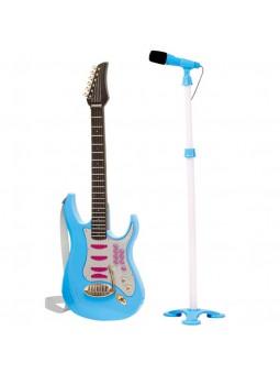 Guitarra con micrófono