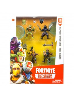 Fortnite blister 4 figuras...