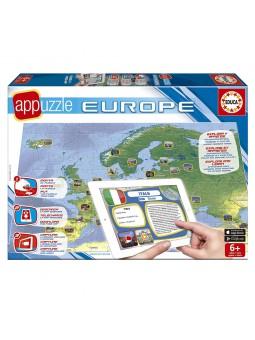Appuzzle Europa de 150 piezas