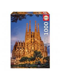 Puzzle 1000 Sagrada familía