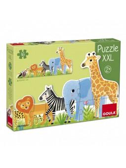 Puzzle XXL 16 piezas Selva