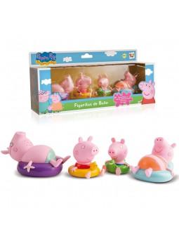 Peppa pig figuras baño
