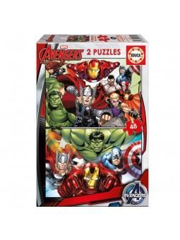 Puzzle 2x48 Avengers