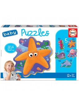 Baby Puzzles Animales del mar