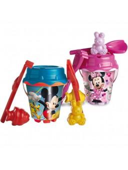 Cubo castillo Mickey y Minnie