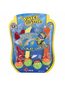 Set 4 bolas acuáticas