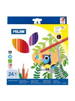 Caja 24 lápices de colores...