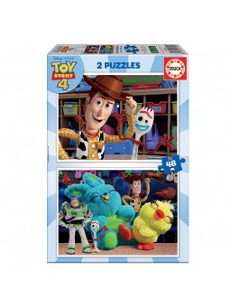 Puzzle 2x48 Toy Story 4