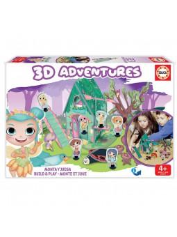 3D Adventures Hadas Puzzle 3D