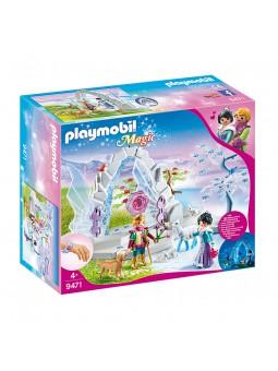 PLAYMOBIL® Portal de Cristal al Mundo de Invierno