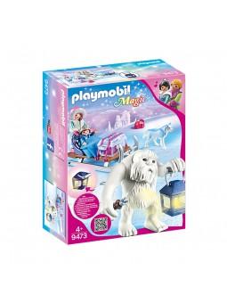 PLAYMOBIL® Trol de Nieve con Trineo