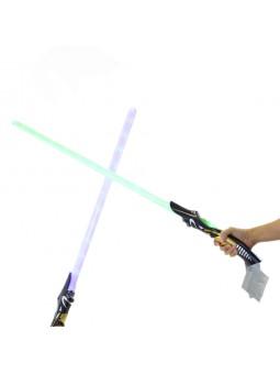 Espada espacial con luz y sonidos