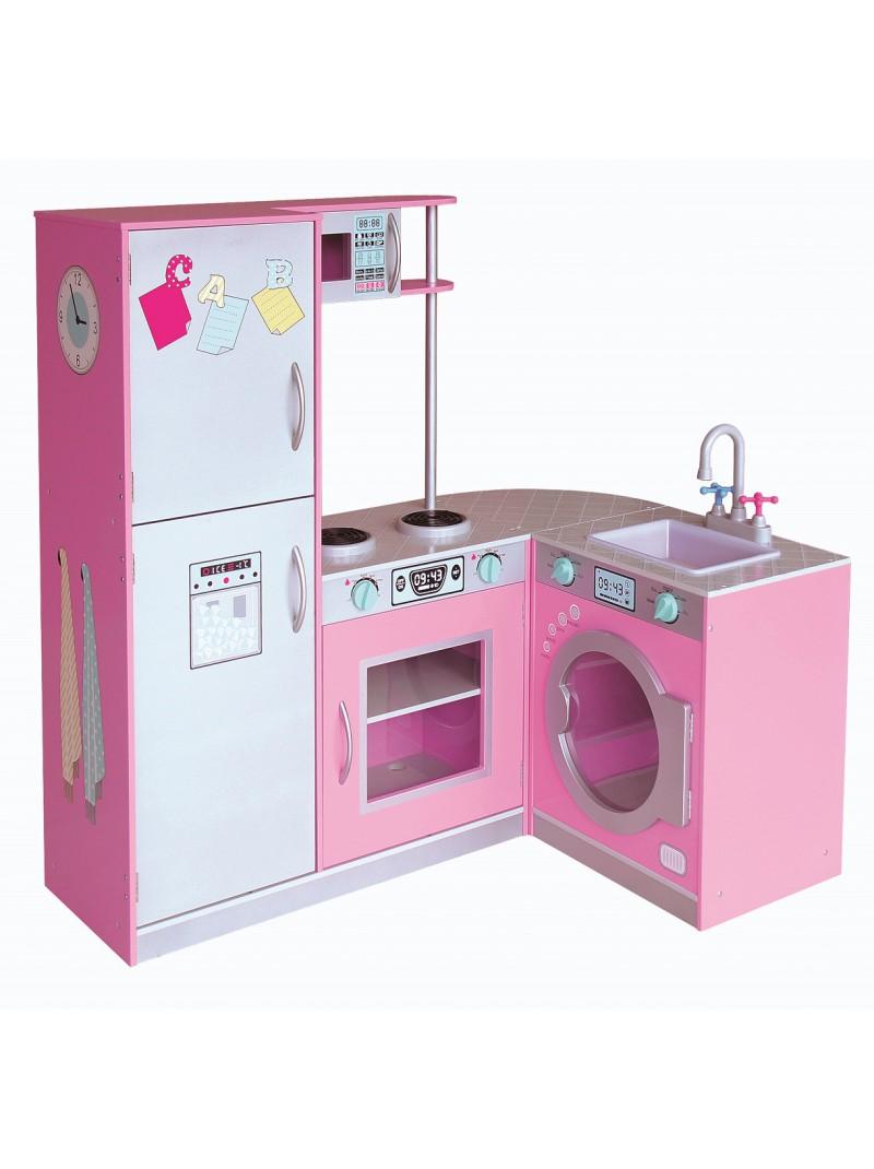 Cocina Modular Rosa