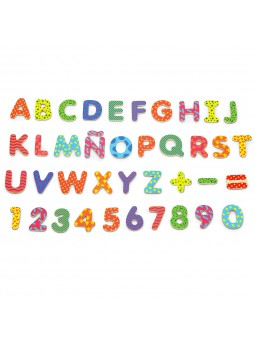 Letras y núeros magnéticos