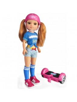 Nancy un dia con mi Hoverboard
