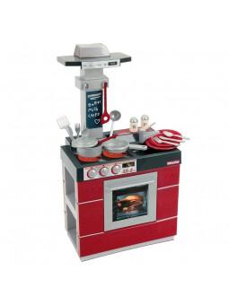 Miele cocina compacta roja