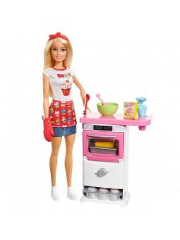 Barbie y su pastelería