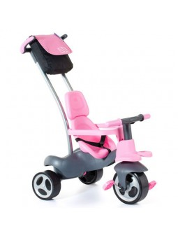 Triciclo rueda goma + cinturón + bolsa