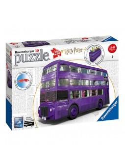 Puzzle 3D Autobús Harry Potter