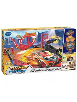 Turbo Force race track + 1 turbo force racer