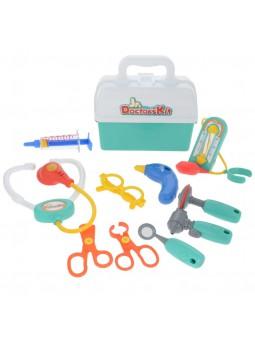 Maletín médico con accesorios