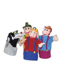 Pack 4 marionetas los 3...