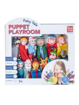 Pack 12 marionetas dedo