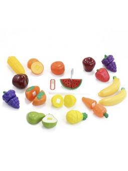 Set frutas corte velcro 30...