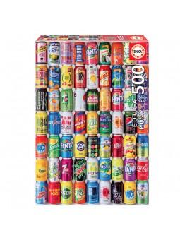 Puzzle 500 Lata sobre lata