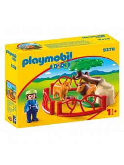 PLAYMOBIL® Playmobil 1.2.3 Recinto leones