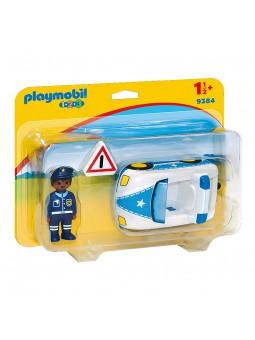 PLAYMOBIL® Playmobil 1.2.3 Coche de Policía