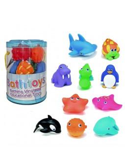 Bote 10 peces colores