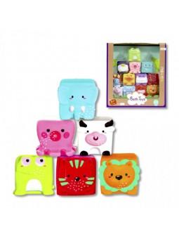 Animales cubo 12 piezas