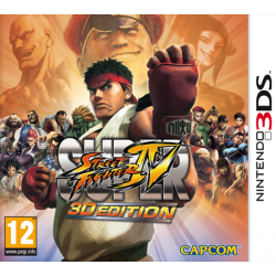 Juego Nintendo 3DS Super Street Fighter IV