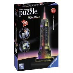 Puzzle 3D Empire State edición noche 216 piezas