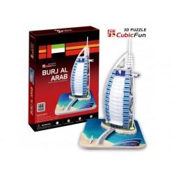 Torre Burj al Arab Dubai Puzzle 3D