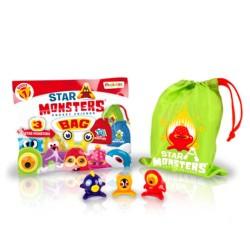 Star Monsters Serie 1 - Pack bolsa con 3 Star