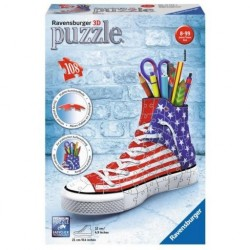 Puzzle 3D girly girl Sneaker 108 piezas.