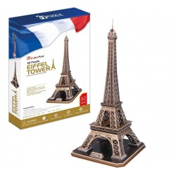 Torre Eiffel grande 3D 82 piezas